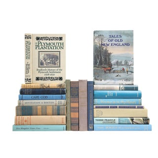 New England Bookshelf - Set of 20