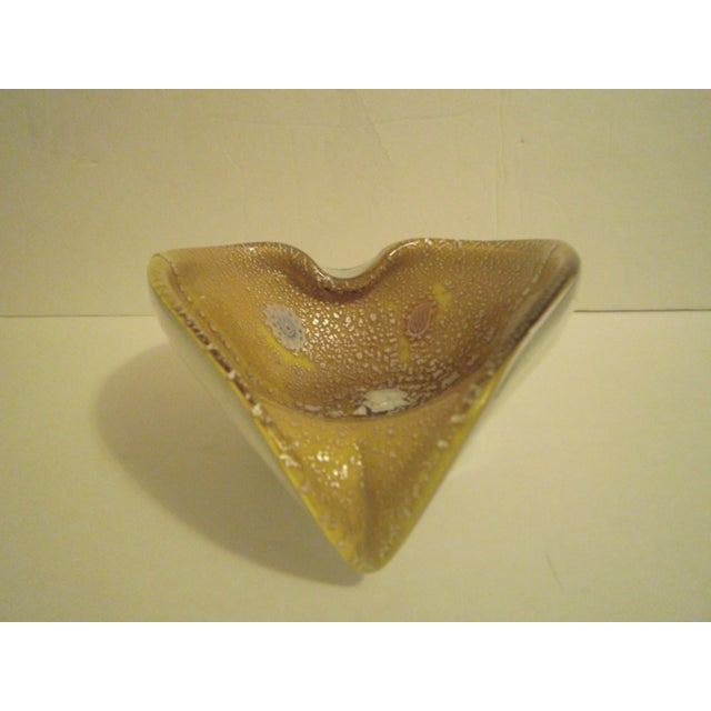Image of Vintage Murano Glass Leaf Dish