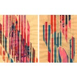 Image of Mixed Media Print - Red Meets Blue No. 20 & 16