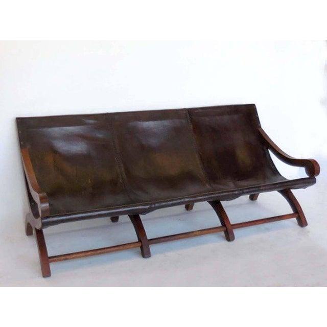 Leather Butaca Sofas - Image 5 of 9