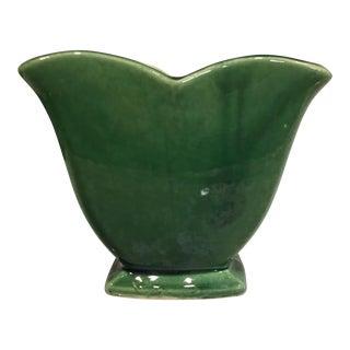 McCoy Green Vase