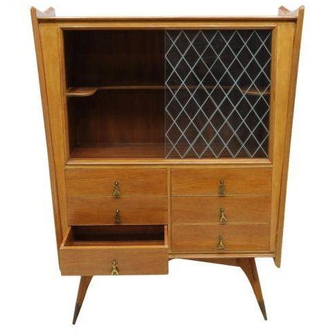 Melchiorre Bega Oak Bar Cabinet - Image 2 of 4