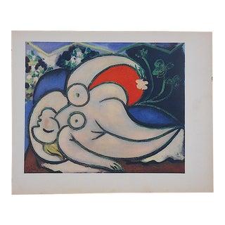 Vintage Picasso Lithograph