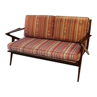 Poul Jensen Original Z Lounge Sofa Selig Danish Mid Century