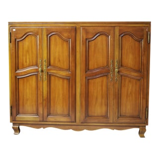 John Widdicomb Mid-Century Walnut Folding Door Dresser