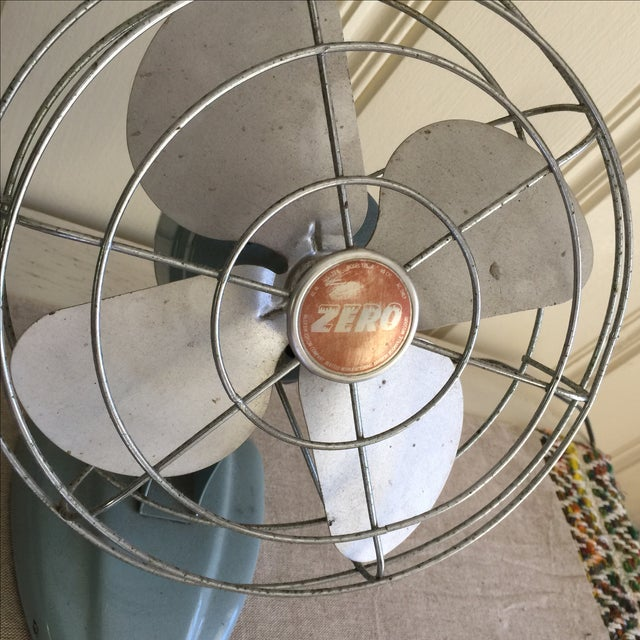 Vintage Mid-Century Oscillating Fan - Image 4 of 8