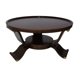1960s James Mont Coffee Table
