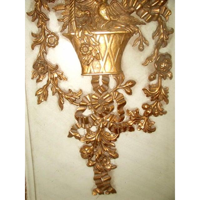 Gilt Decorative Wall Hung Panels - A Pair - Image 5 of 8