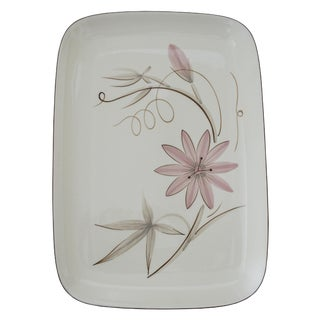 Winfield Passion Flower Large Rectangle Platter