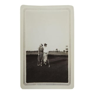 1920's Lady & Gentleman Golfers Photograph