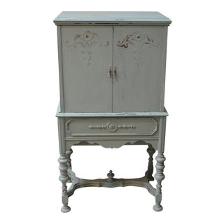 Small Shabby Chic Armoire Cabinet