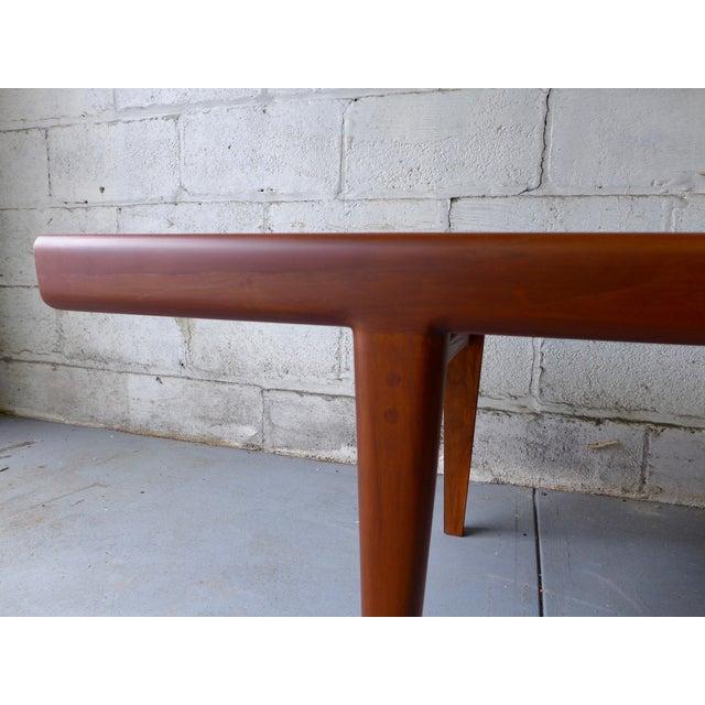 Mcm Teak Coffee Table: Mid-Century Modern Teak Coffee Table With Cubbies