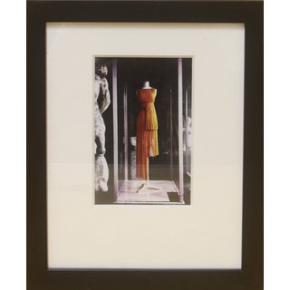 Madame Gres Dress Exhibit Paris Framed Photo