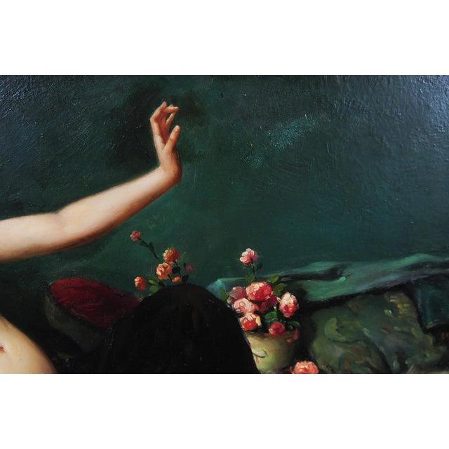 Reclining Female Oil Painting by N. Bingham - Image 4 of 8