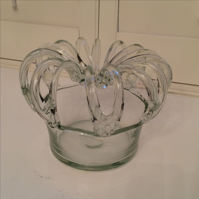 Antique 19th Century Hand Blown Glass Bride's Bank - Image 2 of 9