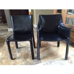 "Image of Cassina ""Cab"" Bellini Chairs - Set of 8"
