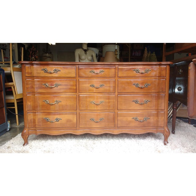 Cherrywood French Provicial Chest of Drawers - Image 2 of 8