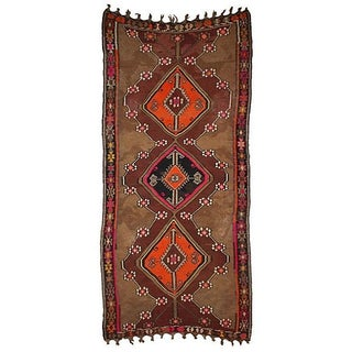 "Antique Turkish Kilim - 11'-2"" x 5'-7"""