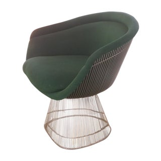 1974 Knoll Green Platner Lounge Chair