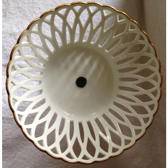 19th Century French Porcelain Corbeille - Image 3 of 5