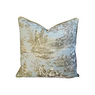 Custom Brunschwig & Fils Romantic Toile Pillow