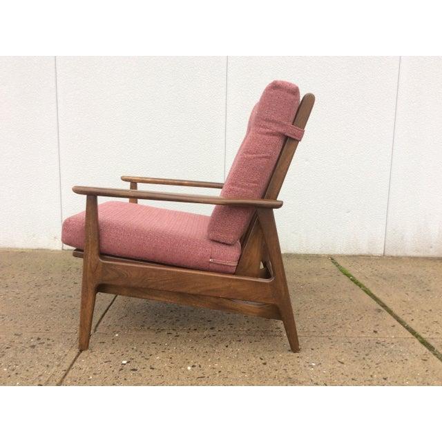 1960s Danish Modern Rocking Lounge Chair - Image 4 of 8