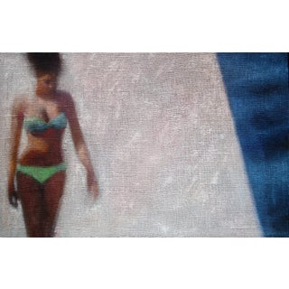 Girl in a Green Bikini