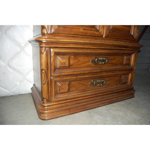 Thomasville Furniture Mediterranean Style Armoire - Image 2 of 9