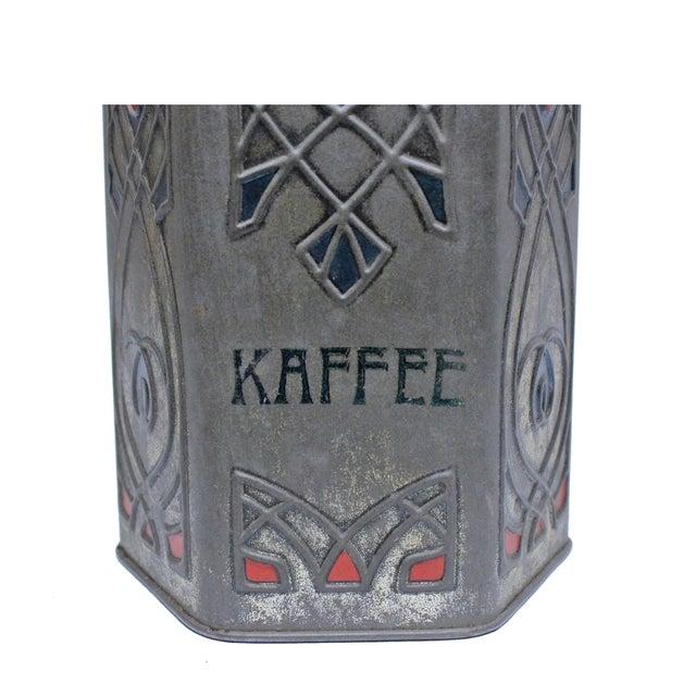 Antique Art Nouveau Coffee & Cocoa Tins - A Pair - Image 4 of 5