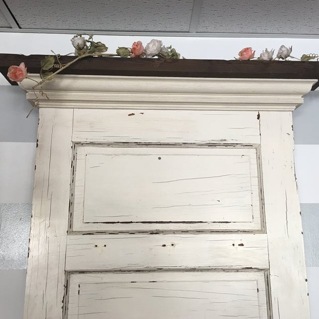 Repurposed Antique Door Hall Tree Bench - Image 7 of 8