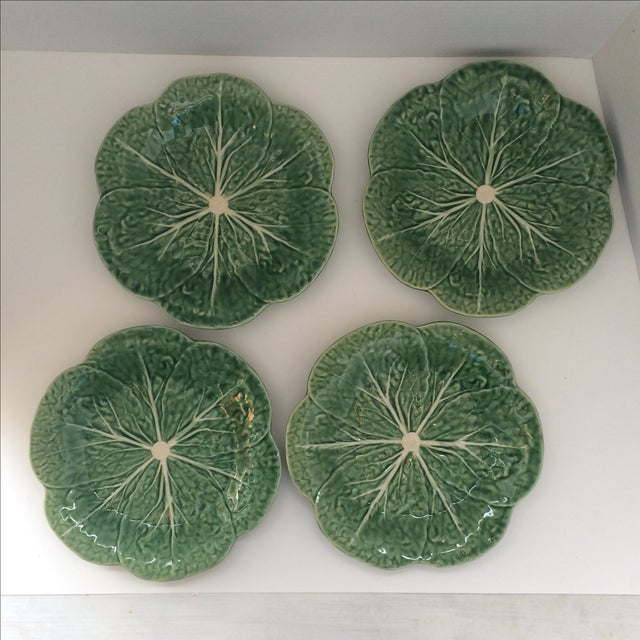 Lettuce Ware Plates - Set of 4 - Image 2 of 6