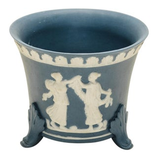 Jasperware Footed Cachepot