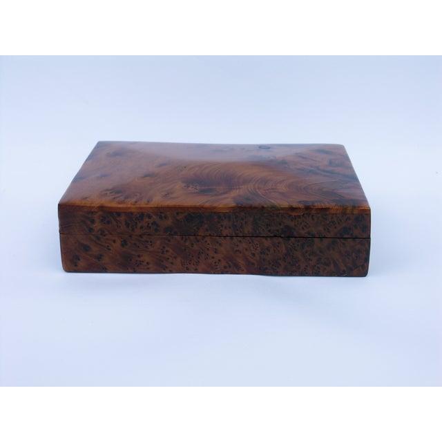 Decorative Juniper Burl Wood Box - Image 5 of 8