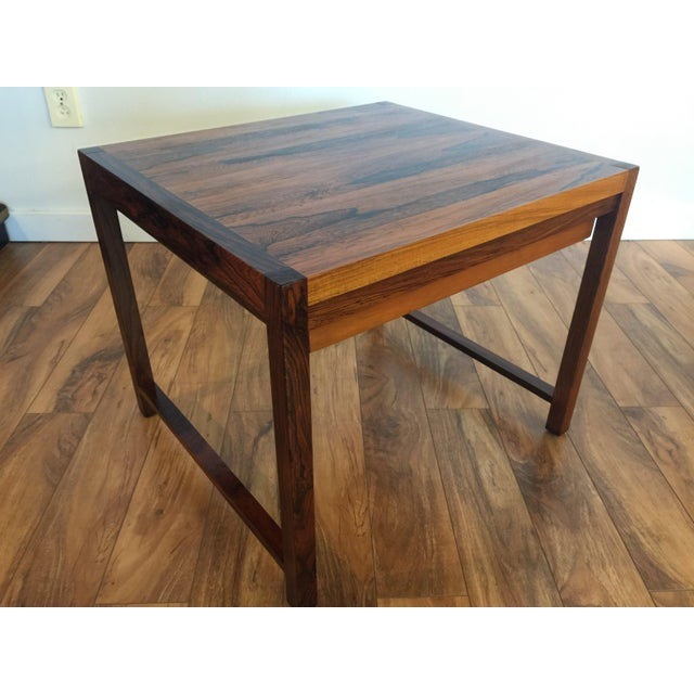 Brode Blindheim Rosewood End Table - Image 7 of 9