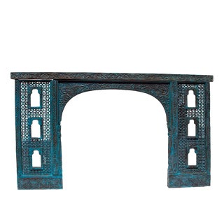 Hand Carved Jharokha Window Arch