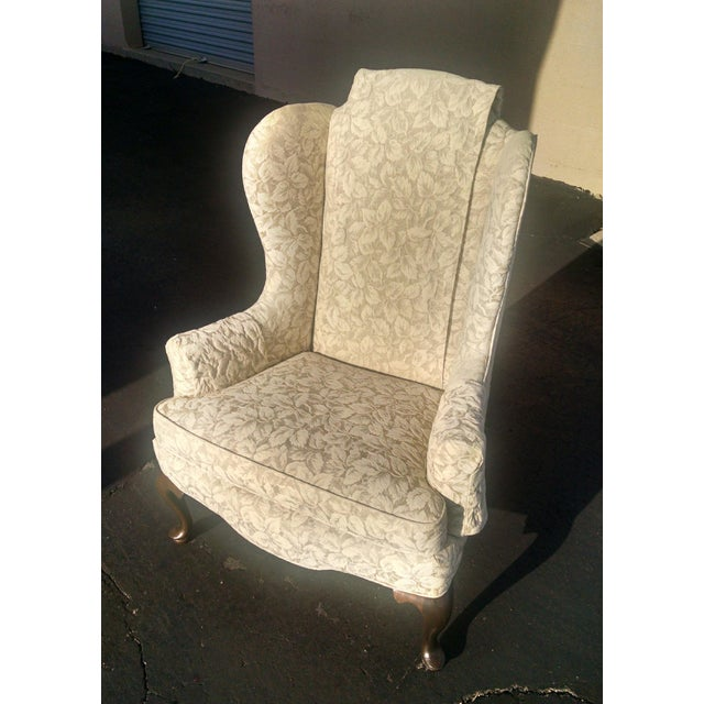 Vintage Wingback Chair - Image 3 of 3