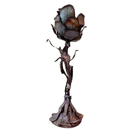 Image of Brutalist Metal Sculpture