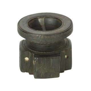Ebonized Tribal Bijani Candleholder