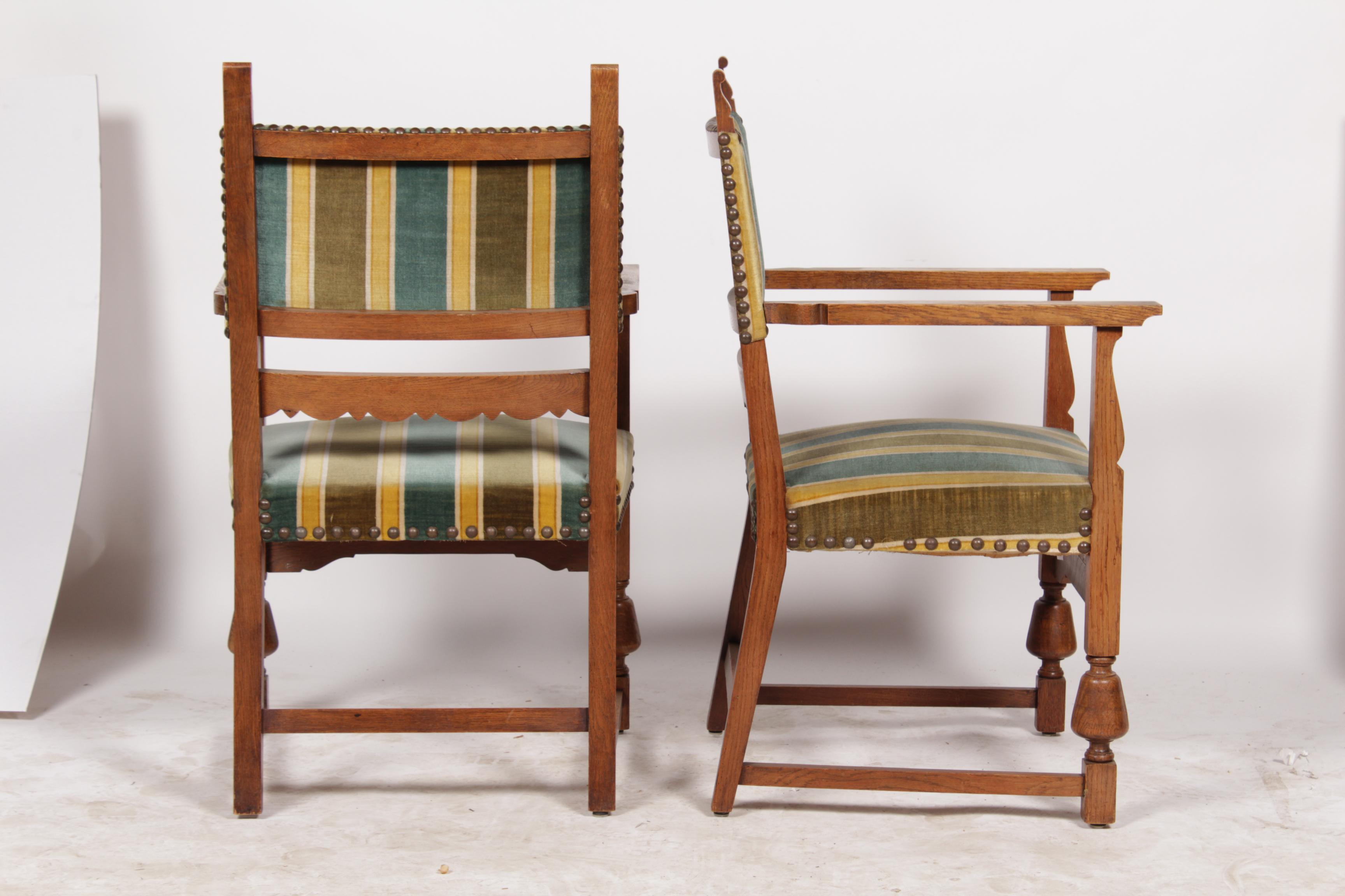 Spanish Revival 1920s Dining Chairs Set Of 6 Chairish
