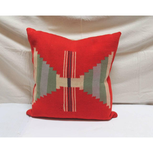 Group of Three Rare Germantown Indian Weaving Pillows - Image 3 of 7