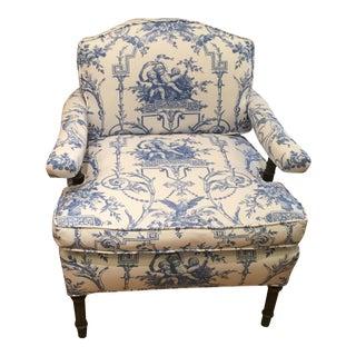 Antique Louis XVI Style Petit Bergere