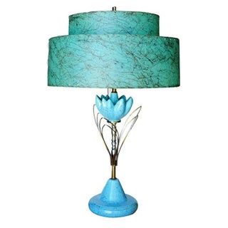 Sculptural Lotus Table lamp