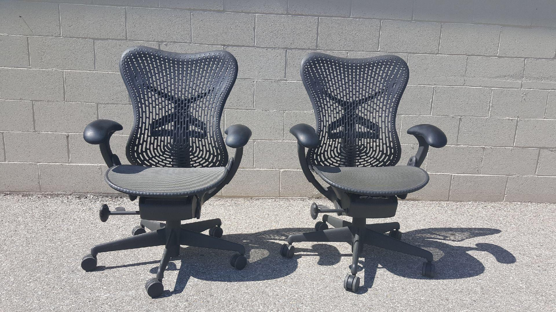 Herman Miller Style Office Chairs   Image 2 Of 8