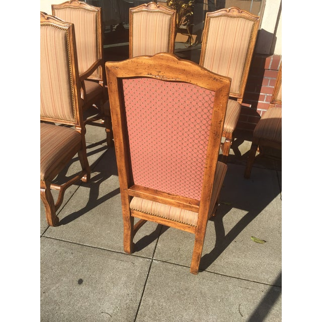 """Image of Bausman """"Os De Mouton"""" French Style Dining Chairs - Set of 8"""