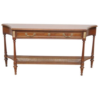 Directoire Style Walnut Console