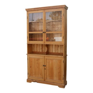 French Reclaimed Wood Cabinet
