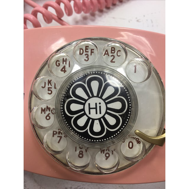 Pink Princess Rotary Dial Phone - Image 8 of 11