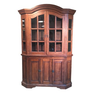 European Arched Top Hutch & Base