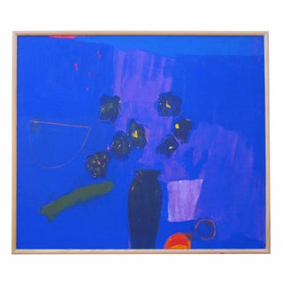 Blue Vase Painting