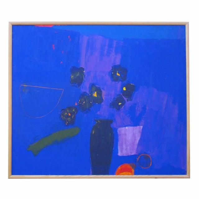 Image of Blue Vase Painting